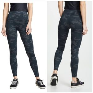 Spanx high rise camo seamless leggings XL